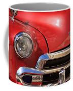 Close Up Of A Red Chevrolet Coffee Mug