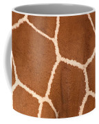 Close-up Of A Reticulated Giraffe Coffee Mug