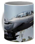 Close-up Of A U.s. Air Force F-15e Coffee Mug