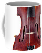 Close Up Of A Violine Coffee Mug