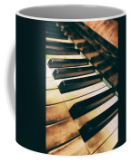 Close Up Of An Old Piano Coffee Mug