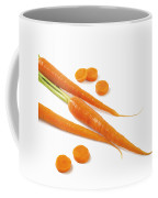 Close-up Of Fresh Carrots Coffee Mug
