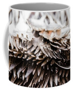Close Up Of Heap Of Silver Forks Coffee Mug