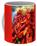 Close-up Of Red Chilies, Taos, New Coffee Mug