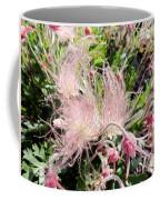 Close-up Of The Prairie Smoke Wildflower Coffee Mug