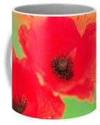 Close Up Poppies Coffee Mug