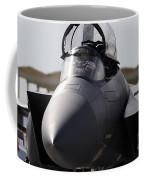 Close-up View Of A F-15c Eagle Coffee Mug