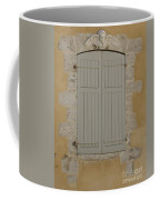 Closed Shutters Coffee Mug