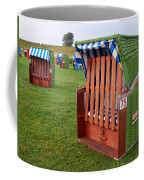 Closed Sunchairs Coffee Mug
