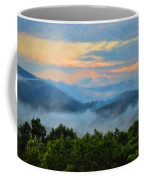 Closer To Heaven In The Blue Ridge Mountains Coffee Mug