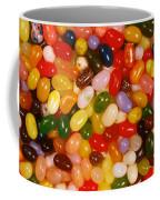 Closeup Of Assorted Jellybeans  Coffee Mug