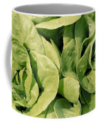 Closeup Of Boston Lettuce Coffee Mug