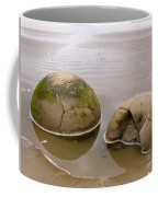 Closeup Of Famous Spherical Moeraki Boulders In Nz Coffee Mug