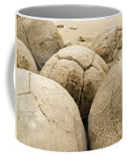 Closeup Of Famous Spherical Moeraki Boulders Nz Coffee Mug