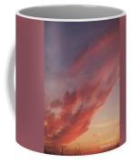 Cloud At Sunset  Coffee Mug