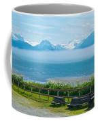 Cloud Bank At Low Tide In Homer-ak Coffee Mug
