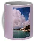 Cloud Faces Over St. George's, Bermuda Coffee Mug