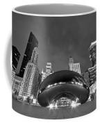Cloud Gate And Skyline Coffee Mug