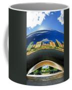 Cloud Gate Under The Bean Coffee Mug