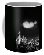 Cloud Over Seattle - Vertical Coffee Mug