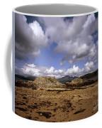 Cloud Passing Across The Cuillin Main Ridge And Bla Bheinn From Tokavaig Sleat Isle Of Skye Scotland Coffee Mug
