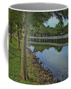 Cloud Reflection At The Pond Coffee Mug
