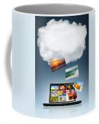 Cloud Technology Coffee Mug by Carlos Caetano