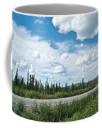 Clouds Above Taylor Highway To Chicken-ak Coffee Mug