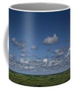 Clouds And Landscape In Alberta Canada Coffee Mug