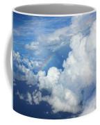 Clouds And Rainbow Coffee Mug