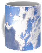 Clouds And Sunshine Coffee Mug