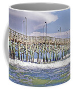 Clouds And Waves Coffee Mug