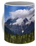Clouds Around Mountains, Robson Coffee Mug