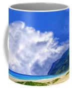Clouds At Polihale Coffee Mug