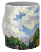 Clouds At Thousand Palms Coffee Mug