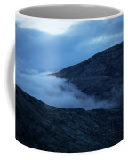 Clouds Cover The Mountains Of The Ice Coffee Mug