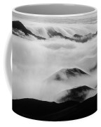 Maui Hawaii Haleakala National Park Clouds In Haleakala Crater II Coffee Mug