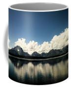 Clouds In The Grand Tetons Coffee Mug