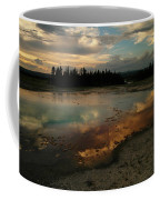 Clouds In The Water Coffee Mug