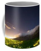 Clouds Loom Over Table Mountain In Cape Coffee Mug