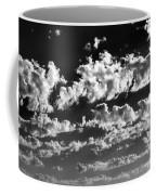 Clouds Of Freycinet Bw Coffee Mug