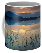 Clouds On The Pink Water Coffee Mug
