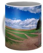 Clouds Over A Baseball Field, Field Coffee Mug