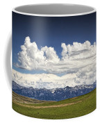 Clouds Over A Mountain Range In Montana Coffee Mug
