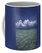 Clouds Over Bora Bora Coffee Mug