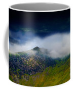 Clouds Over Bull Crag And Maiden Moor Coffee Mug