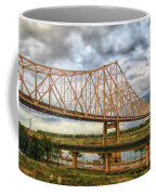 Clouds Over King Bridge Coffee Mug