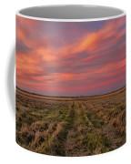 Clouds Over Landscape At Sunset Coffee Mug