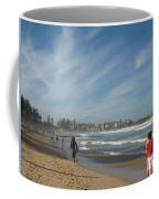 Clouds Over Manly Beach Coffee Mug