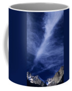 Clouds Over Middle Palisades Glacier California Coffee Mug